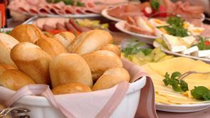 Enjoy our tasty breakfast buffet